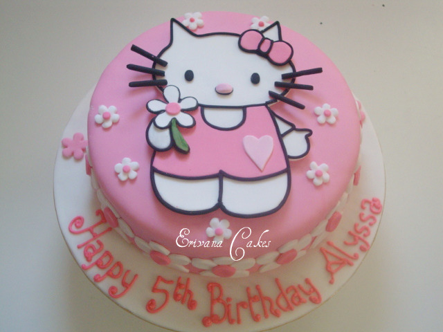 Hello Kitty Cake 1 (B057)
