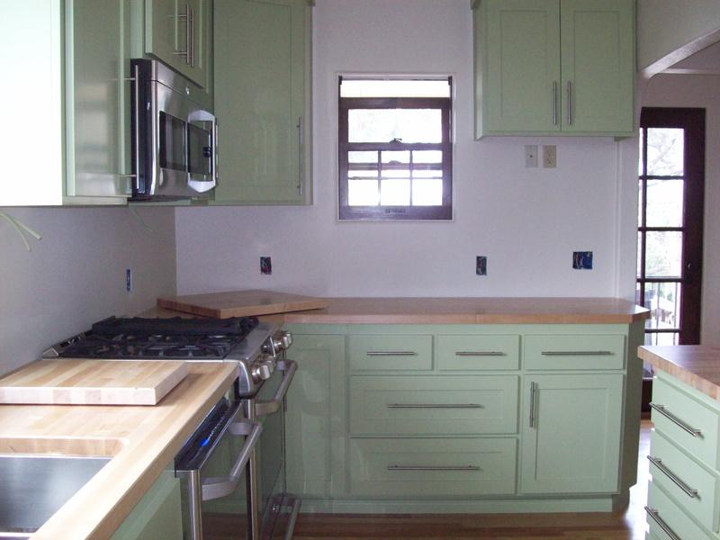 Paint Grade w/Green Paint