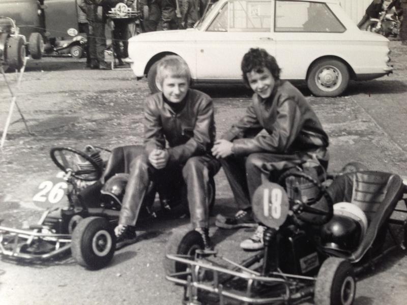 Pete Middleton and Keith Plumridge