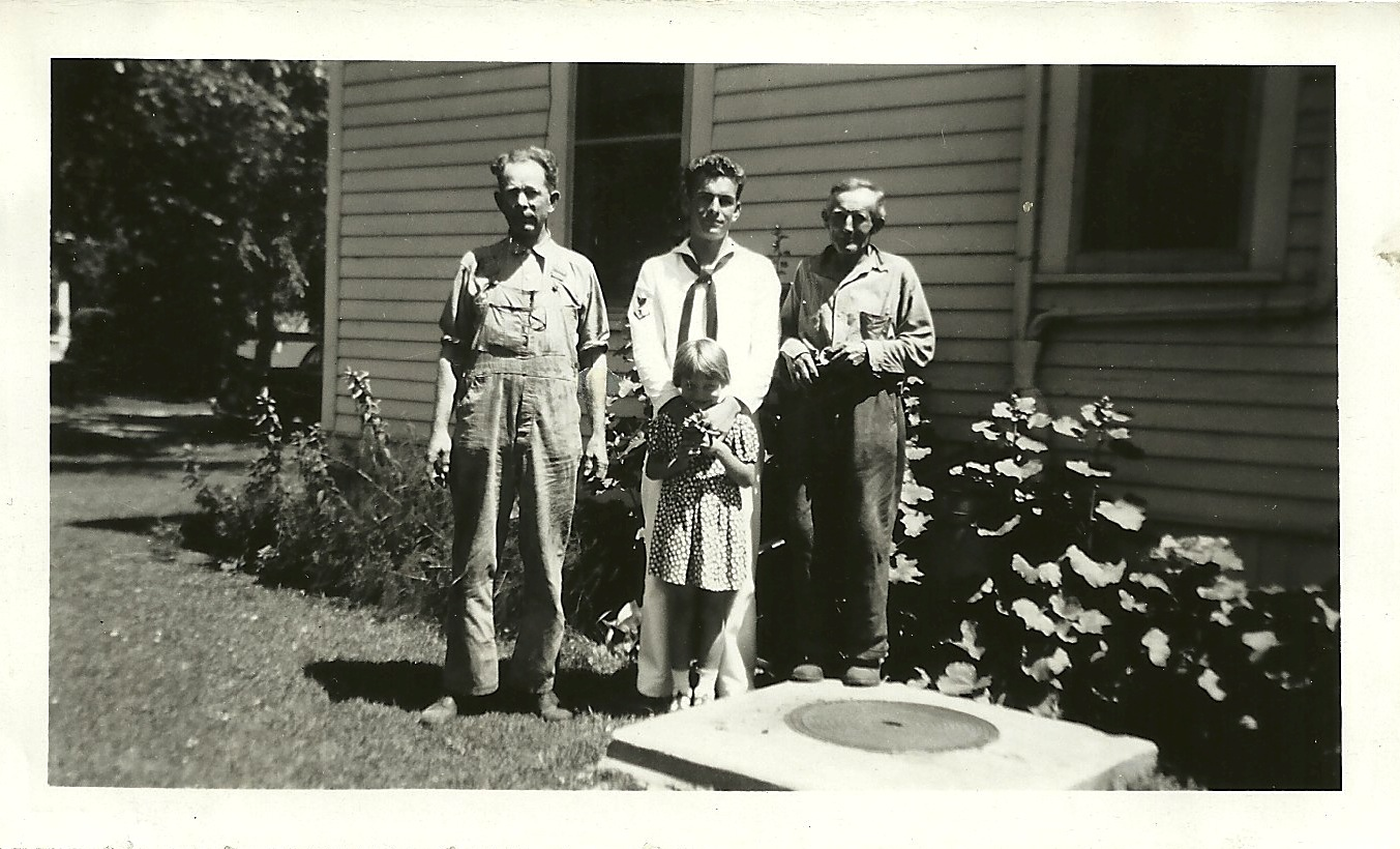 Judge, Robert with Elaine, Ben Mielke, World War II