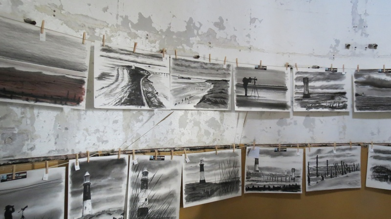 Lighthouse open - Artist in Residence
