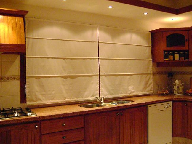 Cocina cortinas lucia casanova - Cortinas cocina rustica ...
