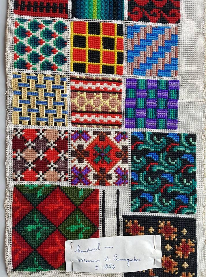 Patterns from around 1850