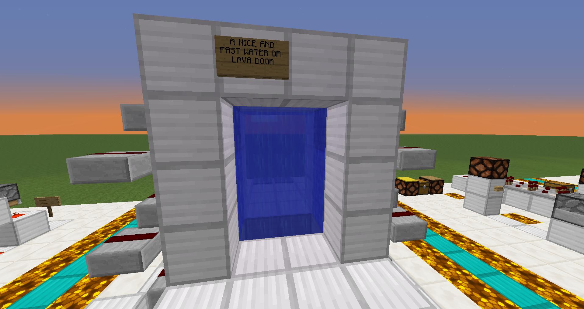 Lava or Water Door