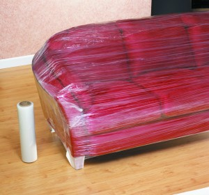 plastic wraps furniture for protection $5 each
