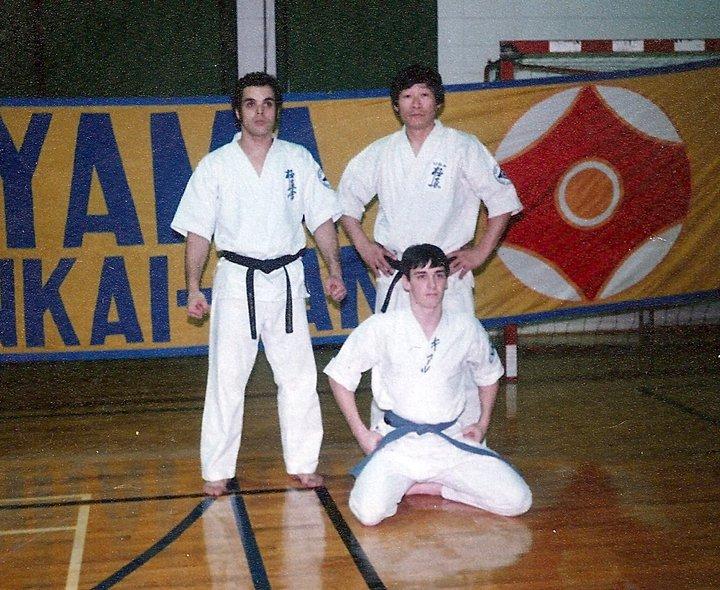 Kyokushin demo and Seminar 1980