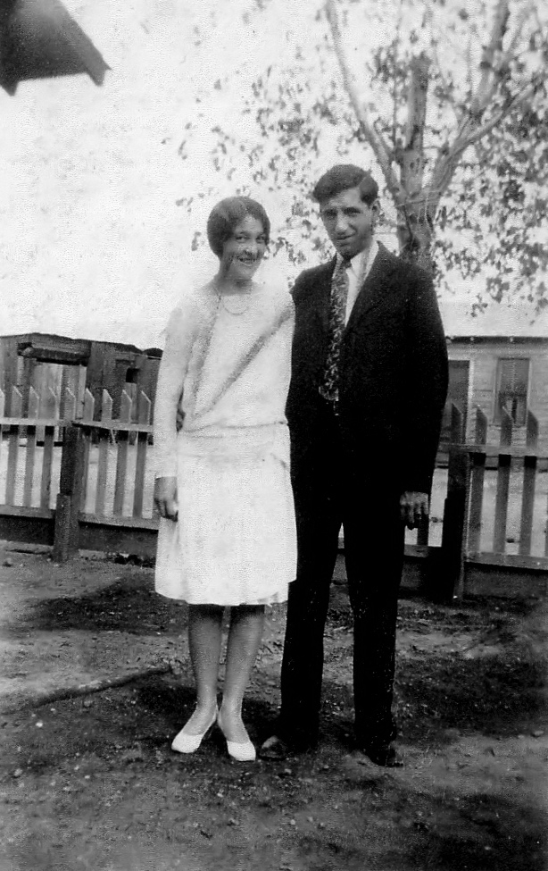 Alice (Hearn) Croyle & Husband, Marshall