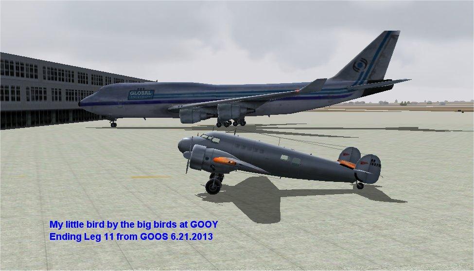 Leg 11: GOSS-GOOY
