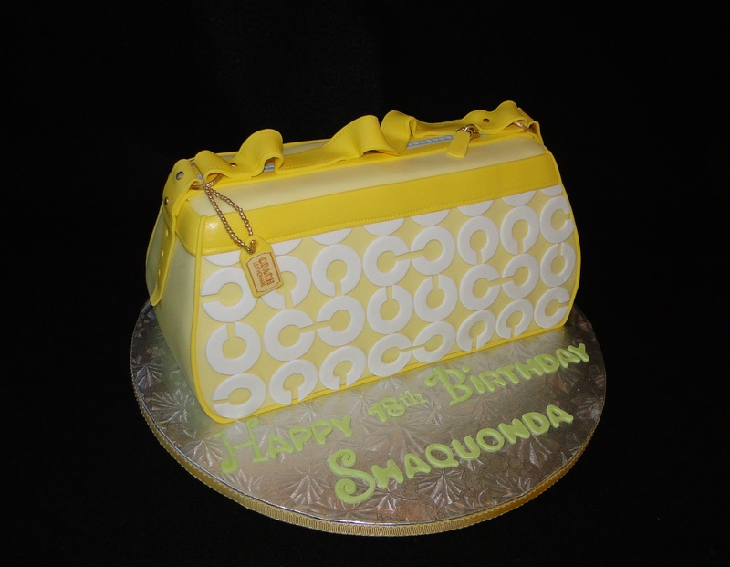 Pictures Of Coach Purse Cakes