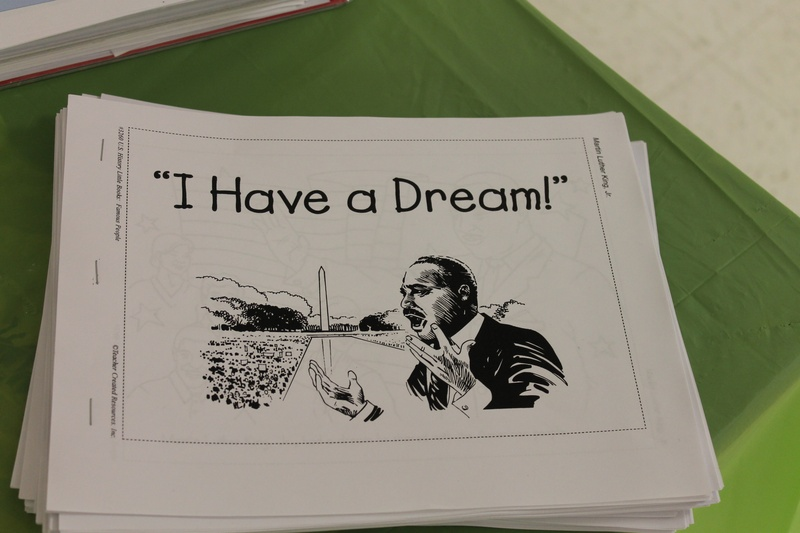 MLK coloring books