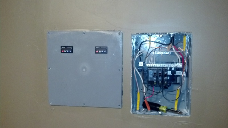 2 PID's that will control the mash and boil/Liqour tanks