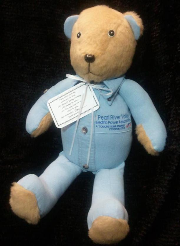 Pearl river valley memory bear for Bear river workwear shirts