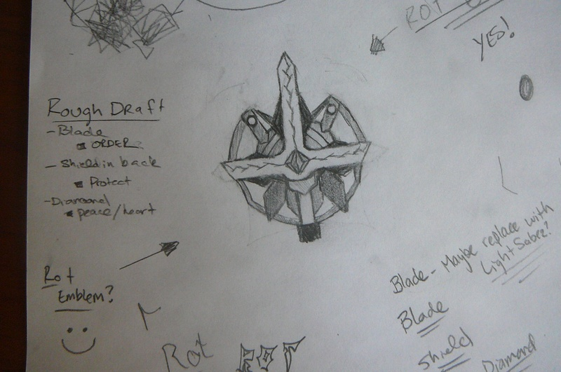 My rough Draft for the new emblem?
