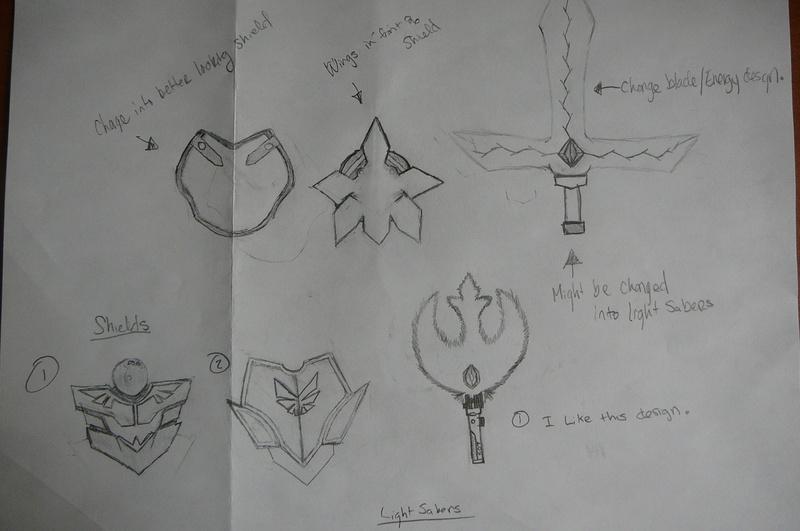 Rough Draft emblem taken apart, and redesigning/upgrading.