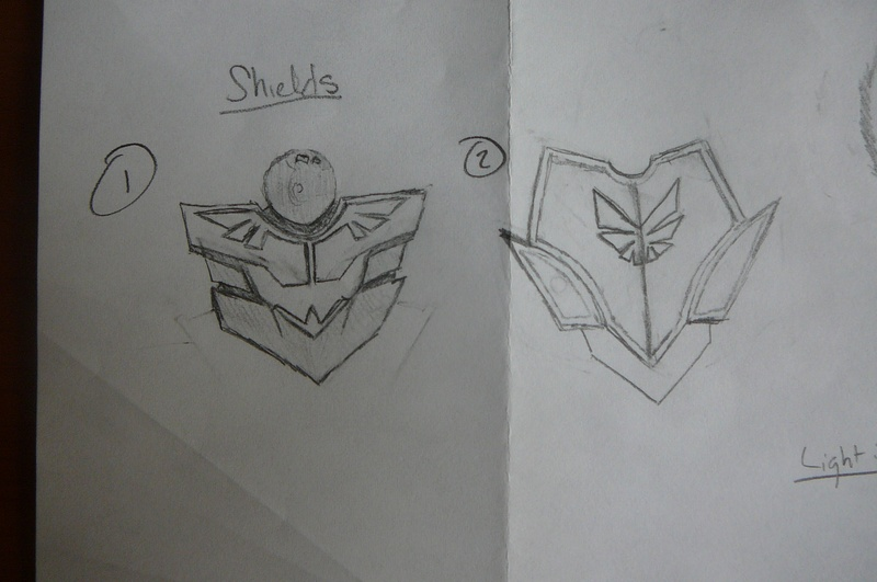 Upgraded Shields? Maybe? Choose please! These two or the Regular.