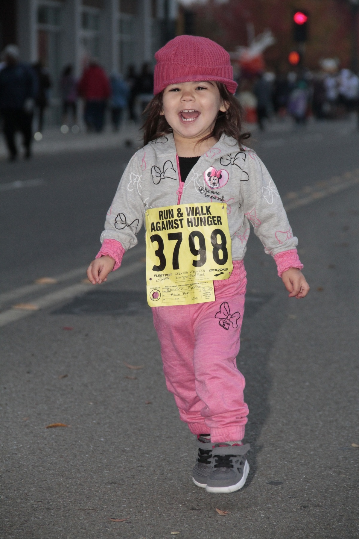 What a cutie!  start them running young!