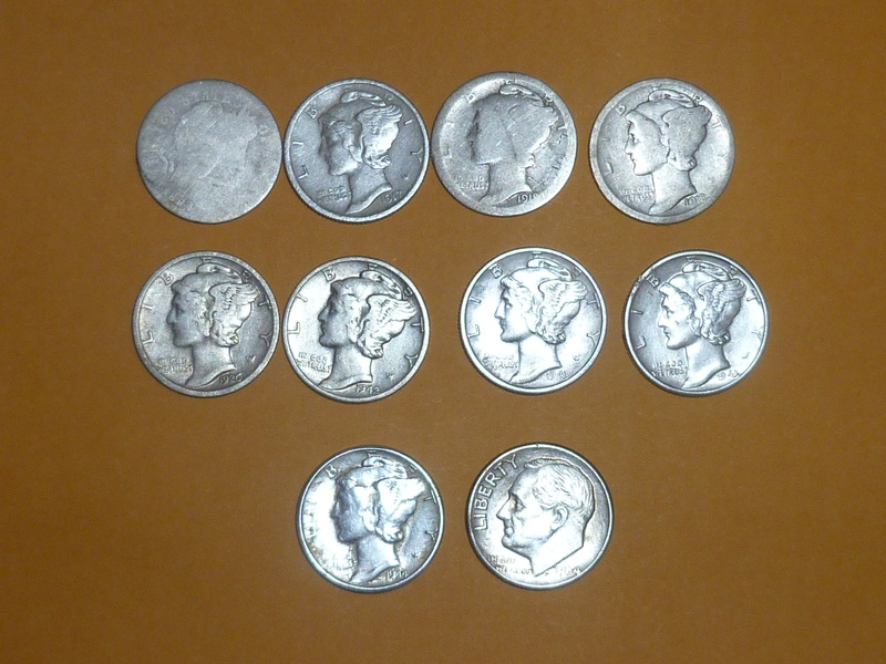 Silver finds from March-1st week in May