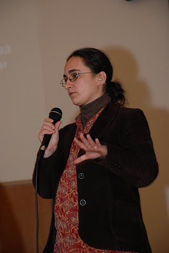 Organizatorka festiwalu Szeszory
