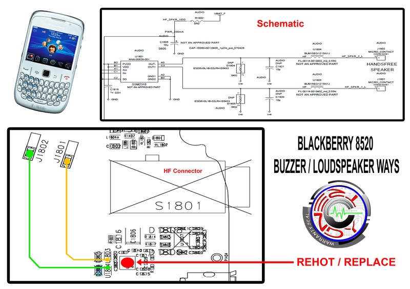 8520 Buzzer/Louspeaker