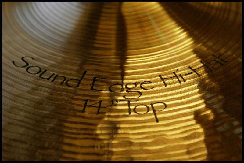 """Paiste Symphonic Sound Edge 14"""" hi hat"""