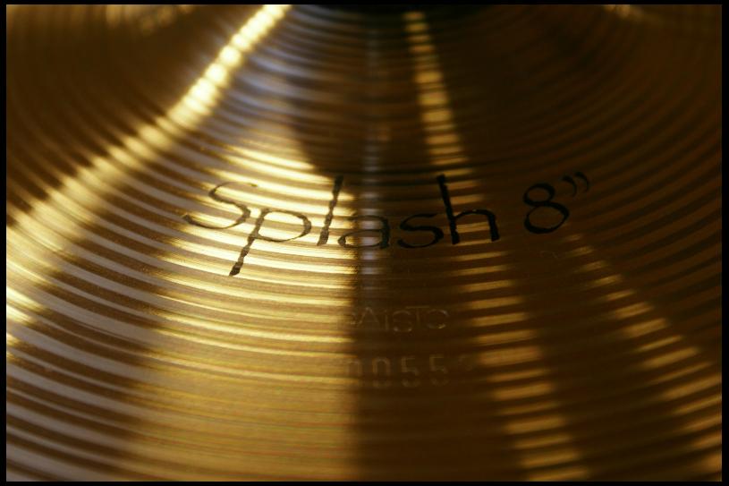 "Paiste Symphonic Splash 8"""