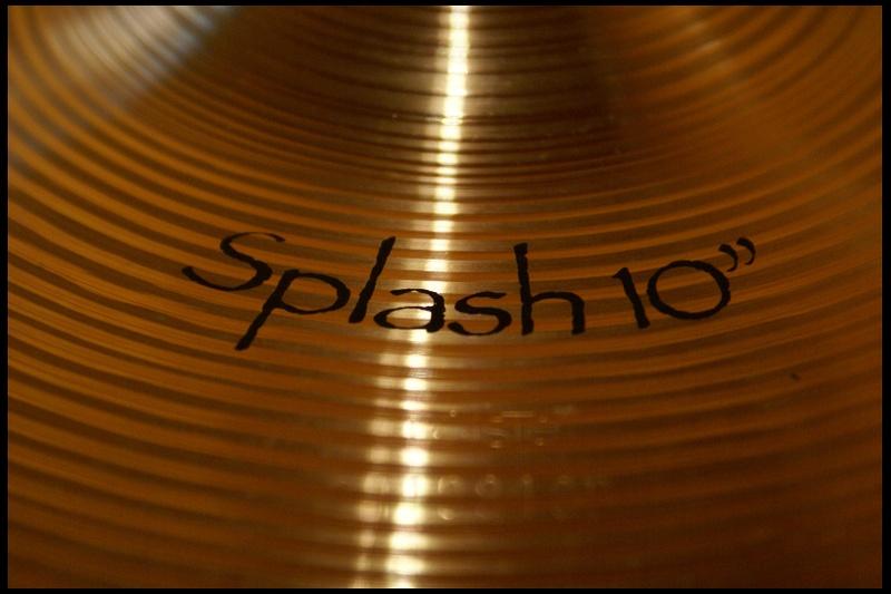 "Paiste Symphonic Splash 10"""