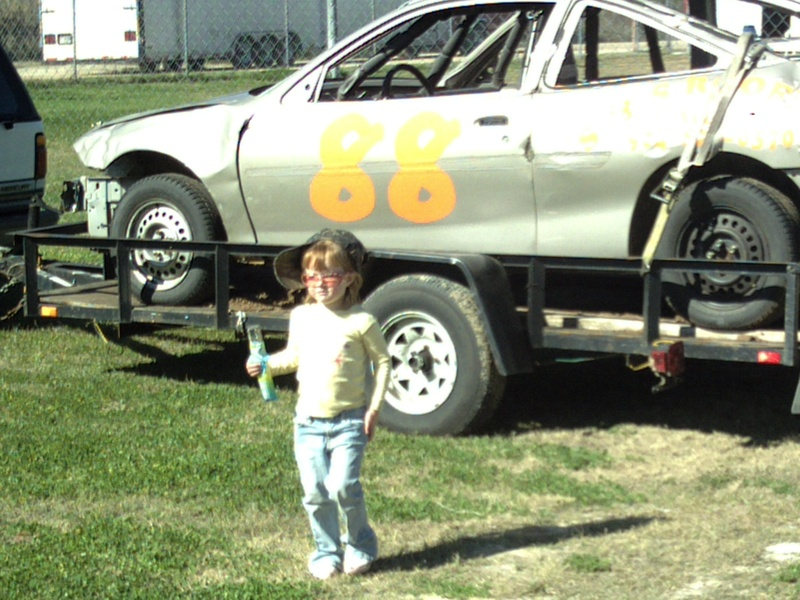 maddie at the track