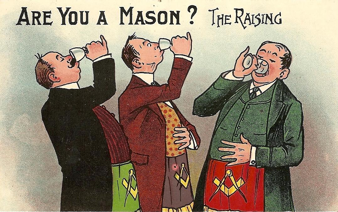 Masonic Postcards - Phoenix Lodge A F  & A M