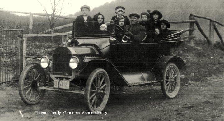 McBride family mid 1940's