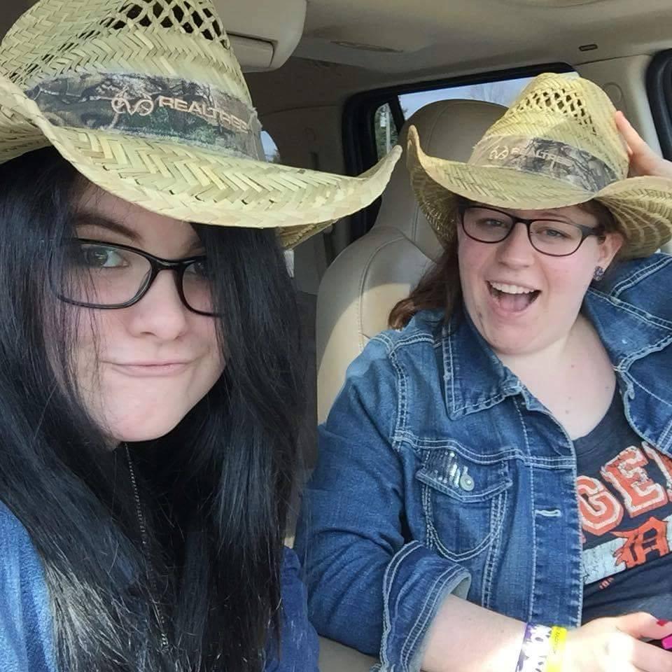Cowboy hats!
