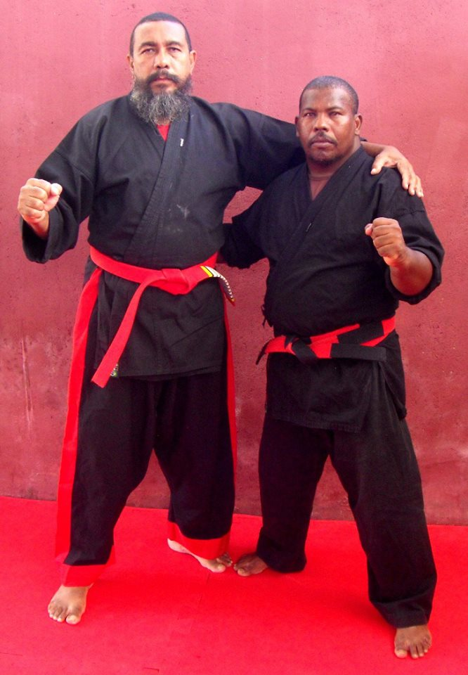 Hanshi Odmar Braga PHD.DR & Kyoshi Eronildo Silva
