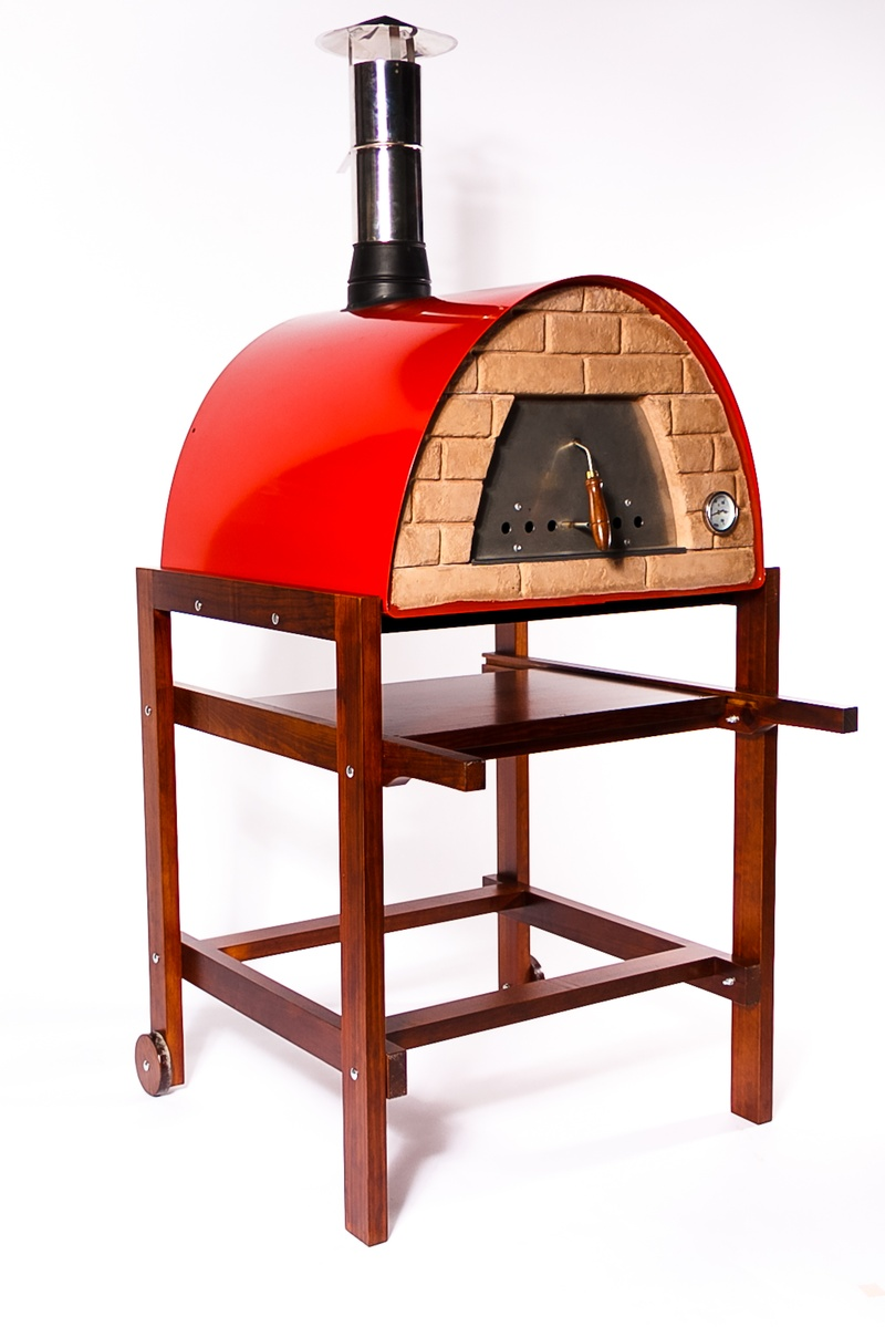 Maximus 60 Wood Fired Oven - RED