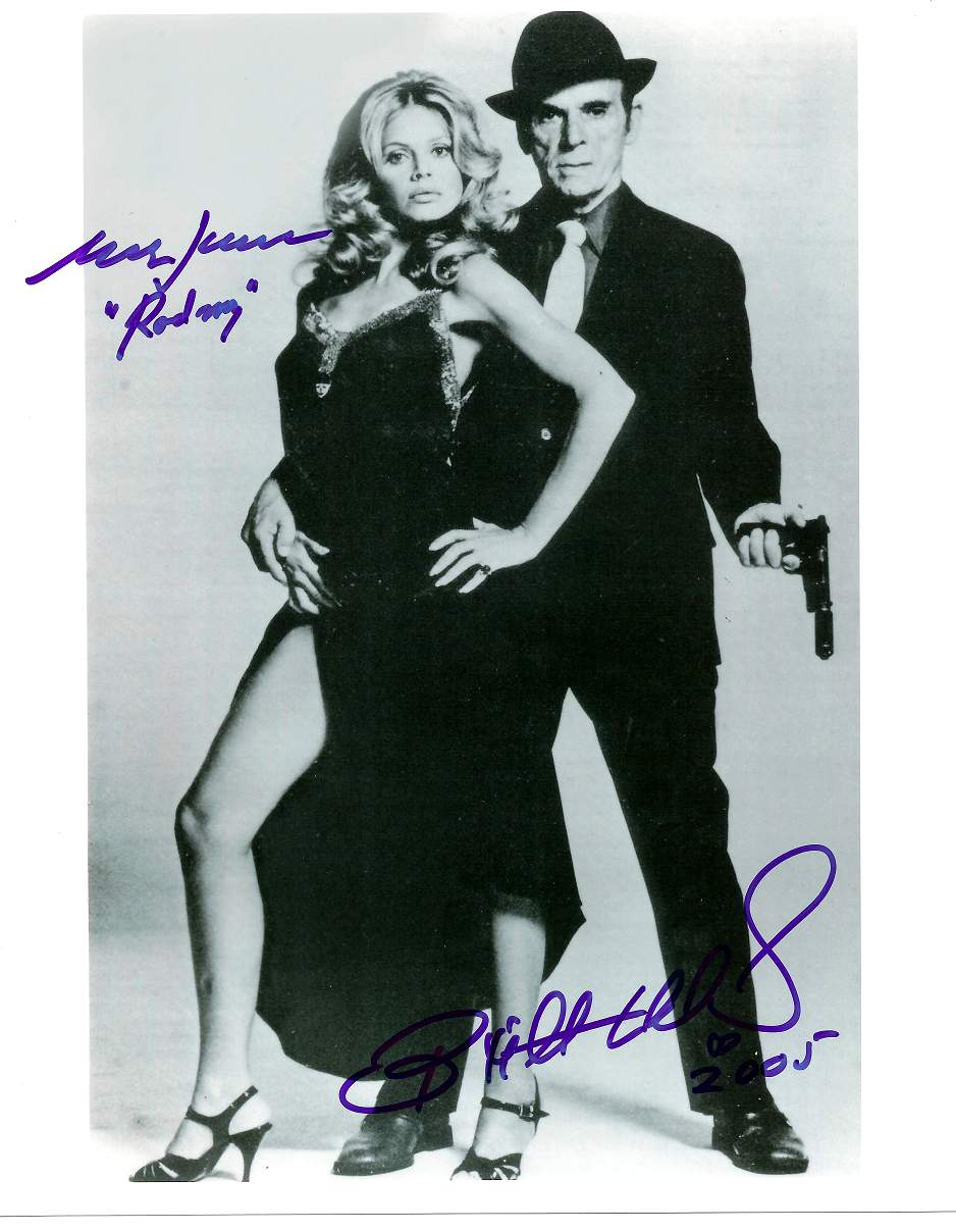 Britt Ekland and Marc Lawrence