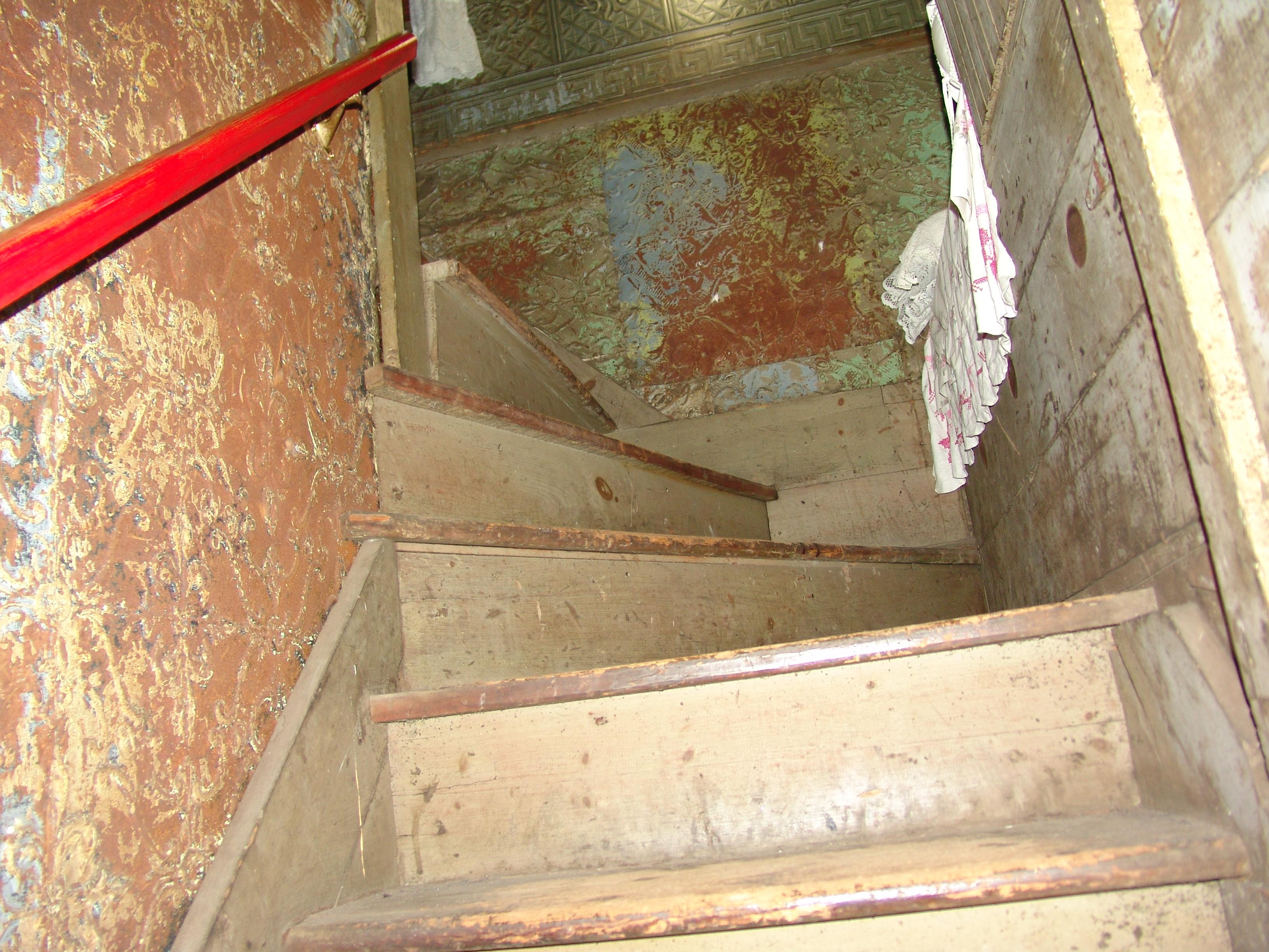 Stairs to Bordello