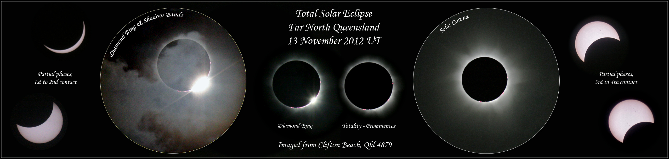Total Solar Eclipse, Nov 2012