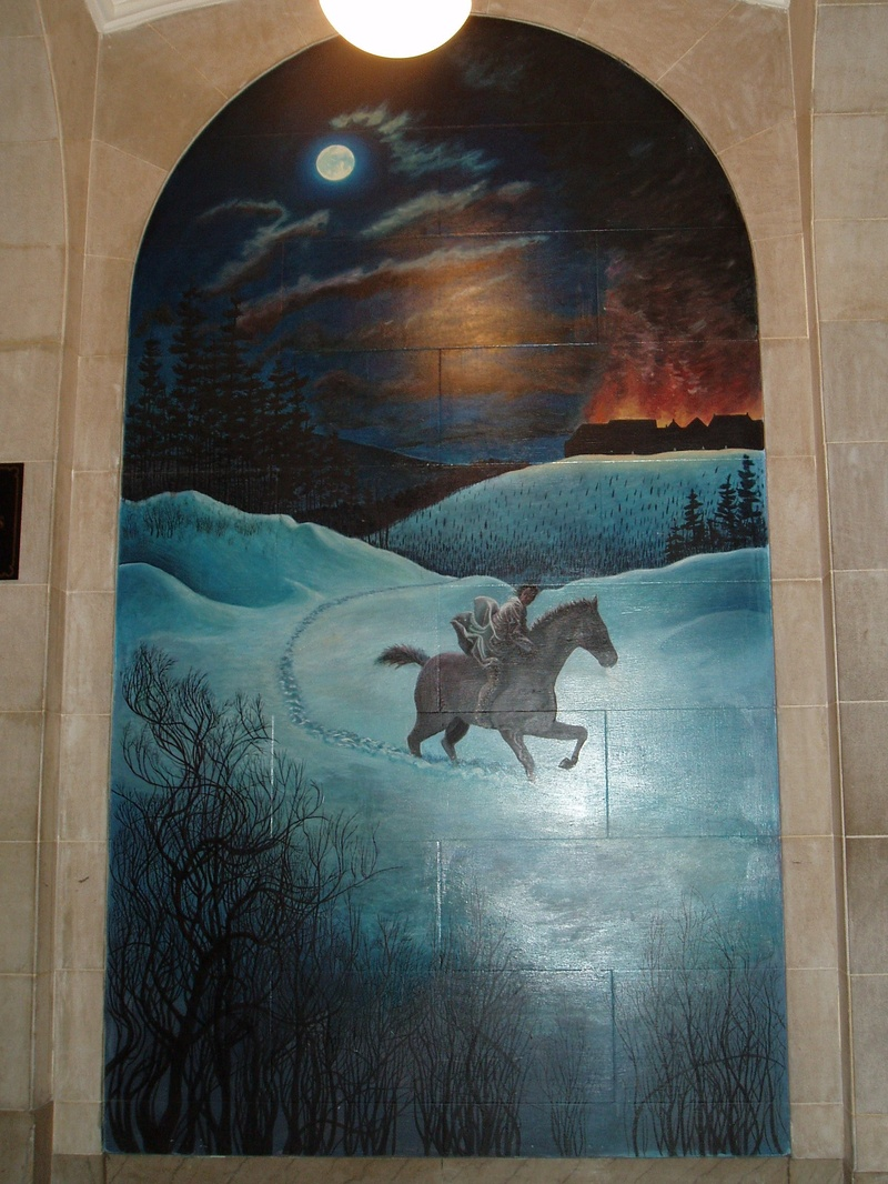 Mural of Symon Schermerhorn's Ride