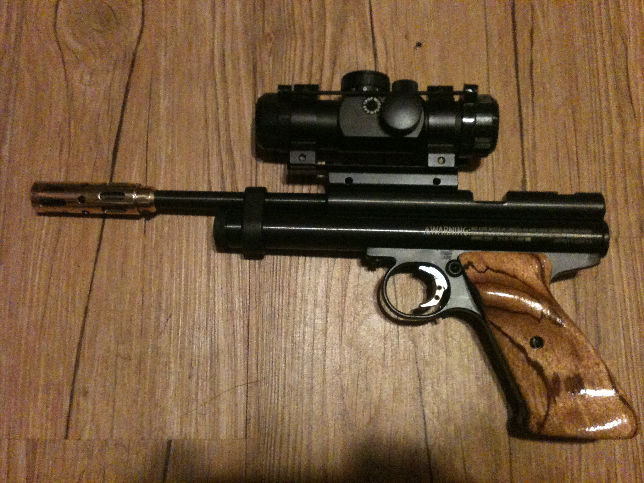 Custom pellet gun