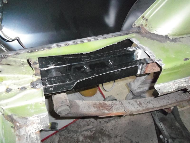 Rear frame