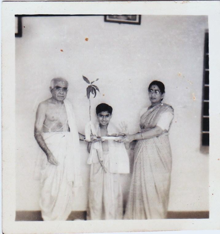 Upanayanam of BLN Rao