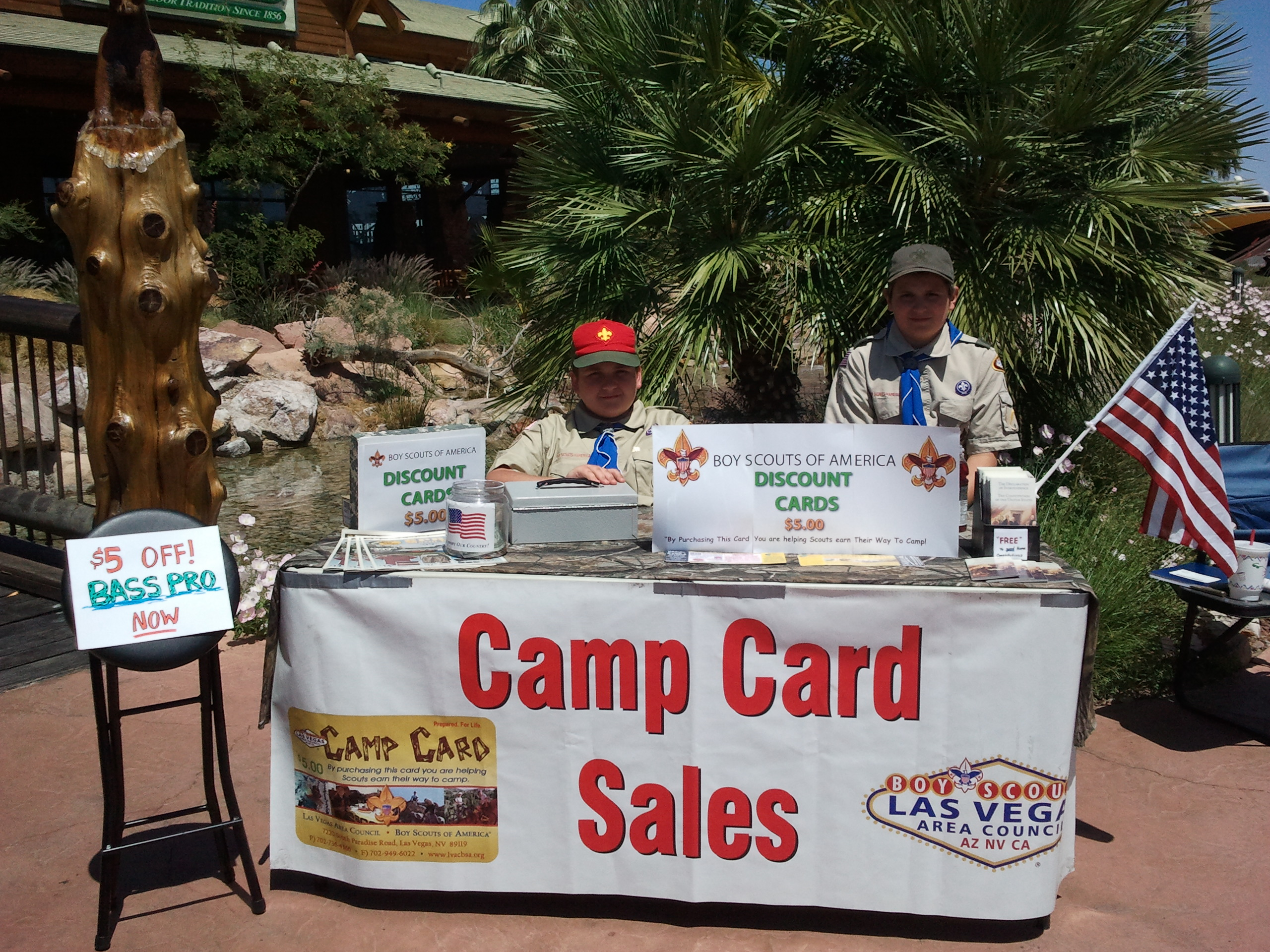 Camp Card Sales  - Bass Pro Shop