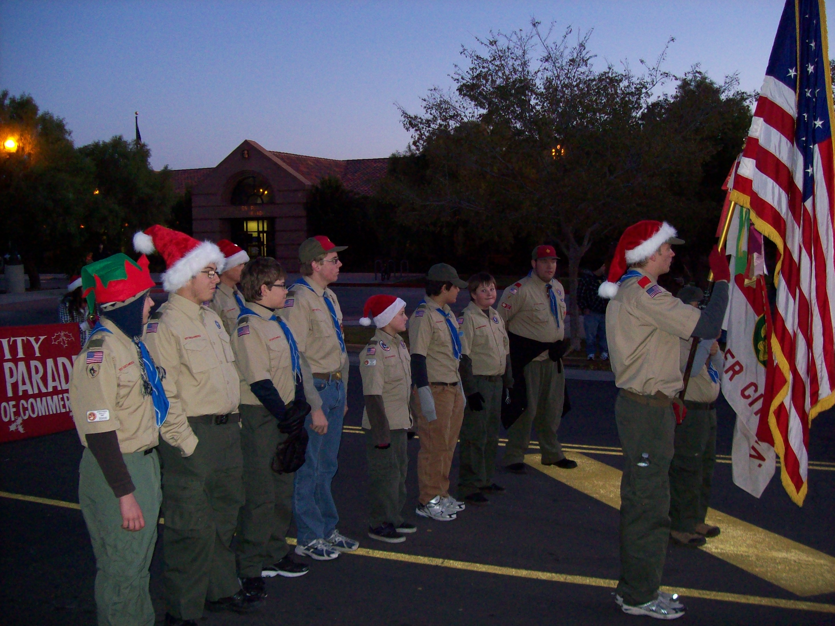 Boulder City Christmas Parade 2011