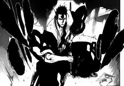 Shiba Release his Reiatsu