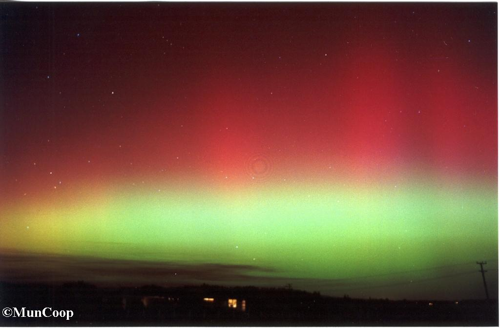 The Great Auroral Storm of March 31st, 2001.