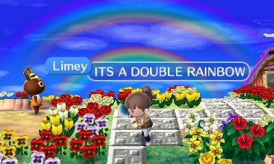 double rainbow all da way