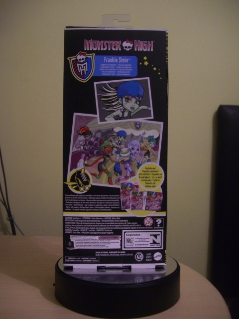 Monster High Skultimate Roller Maze Frankie Stein