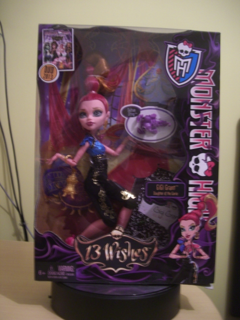 Monster High 13 Wishes Gigi Grant