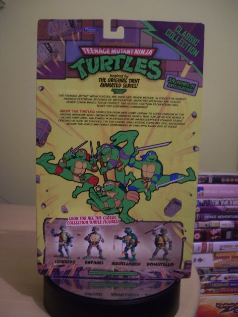 Teenage Mutant Ninja Turtles Classic Collection 1988 Donatello