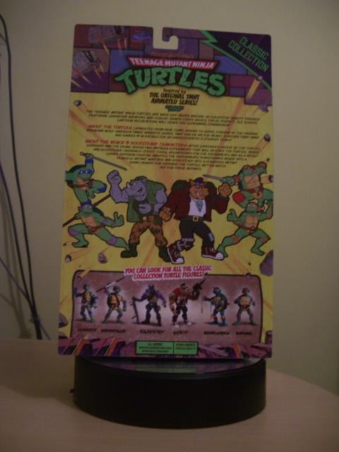 Teenage Mutant Ninja Turtles Classic Collection 1988 Rocksteady