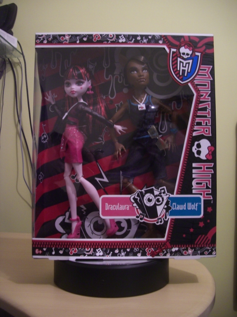 Monster High Exclusive Music Festival 2-Pack Clawd Wolf & Draculaura