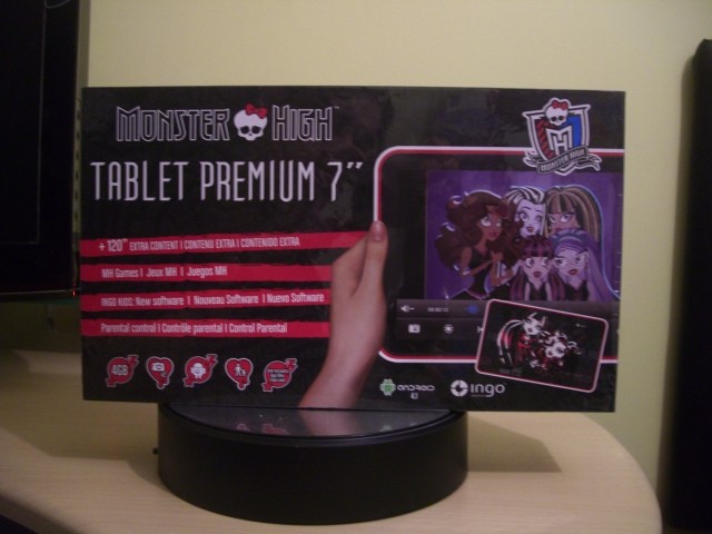Monster High Tablet Premium 7'' Ingo